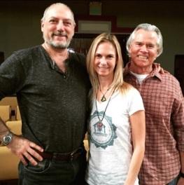 Leslie Kaminoff, Uta and Tim Miller, Garrison Institute 2015